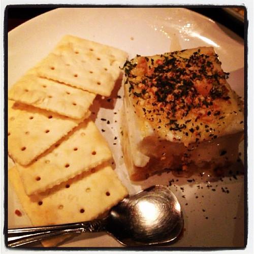 栗のちーず豆腐。めちゃ美味い。