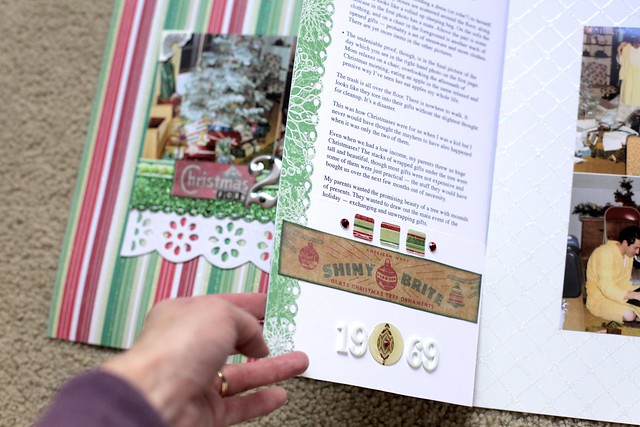 Christmas for 2? - with journal insert