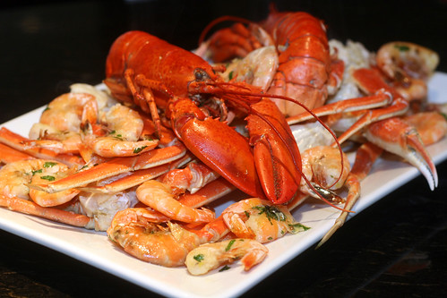 roasted shellfish platter