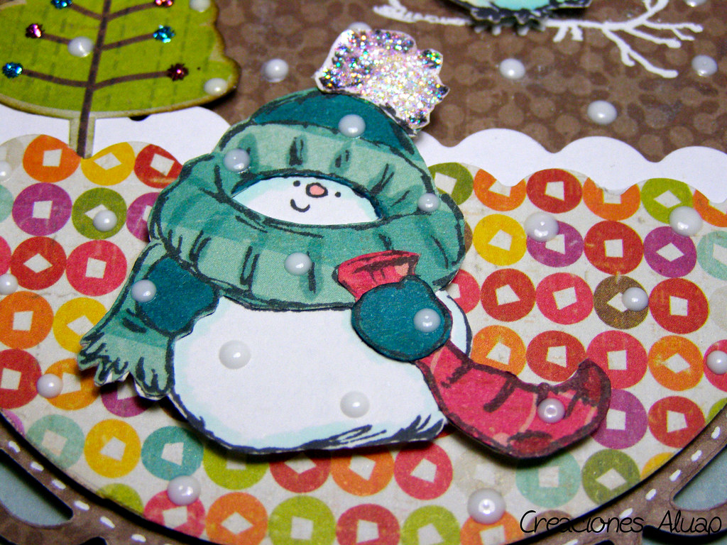 detalle adorno navidad - detail christmas ornament