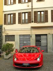 automobile(1.0), vehicle(1.0), ferrari 458(1.0), automotive design(1.0), land vehicle(1.0), luxury vehicle(1.0), sports car(1.0),