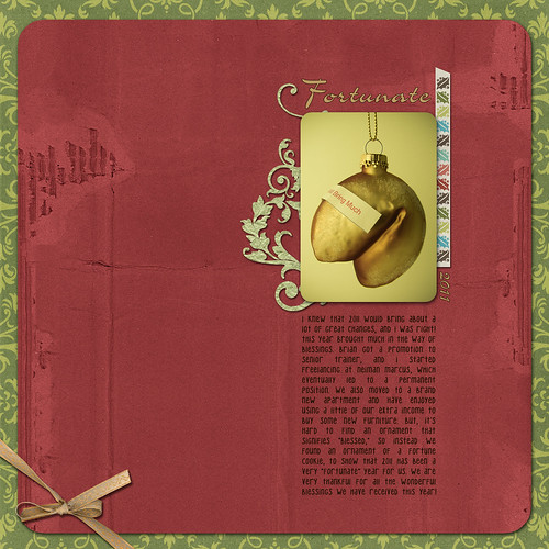DigiScrap: Fortunate