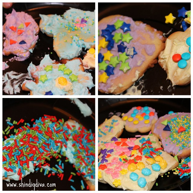 New Year's Eve-Eve - Cookie Decorating