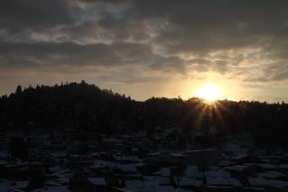大晦日日出
