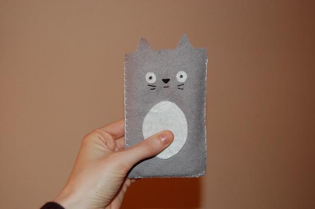 Totoro ipod case