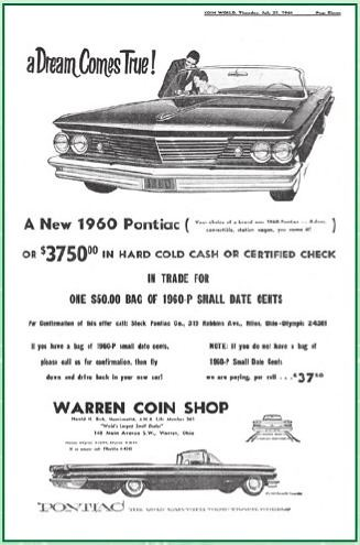 Small date cent ad