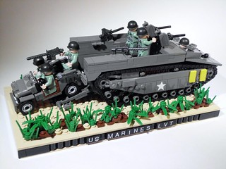 US MARINES LVT-4