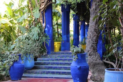 Llg travels yves saint laurent 39 s jardin de majorelle - Jardin majorelle prix d entree ...