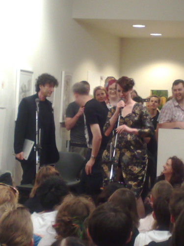 Neil Gaiman and Amanda Palmer