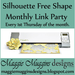 Silhouette Free Shape Blog Party