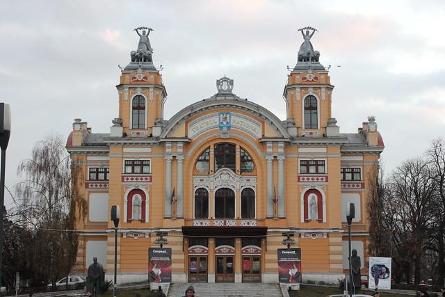 Teatro nacional de Cluj-Napoca