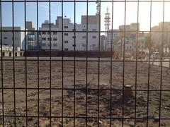 高知城追手門前の更地 by haruhiko_iyota