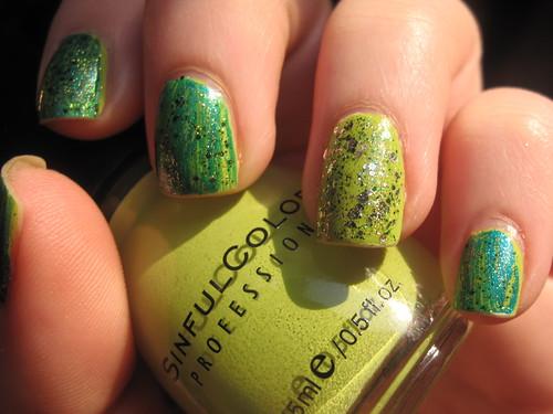 Livingaftermidnite - Green Glitter