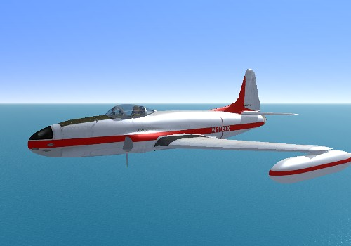 The Quality Simulations Forum • View topic - Lockheed P-80