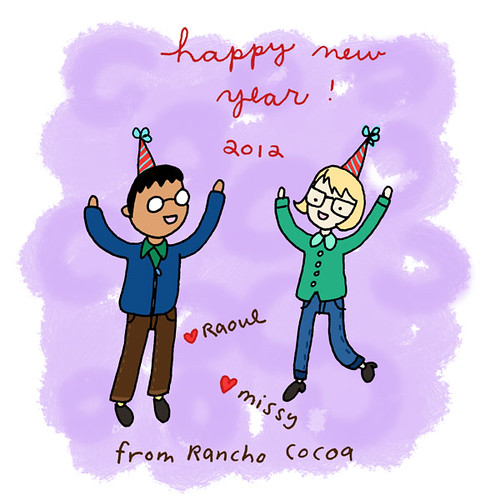 Happy New Year 2012 from Rancho Cocoa