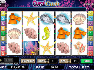 Coral Cash Slots slot game online review