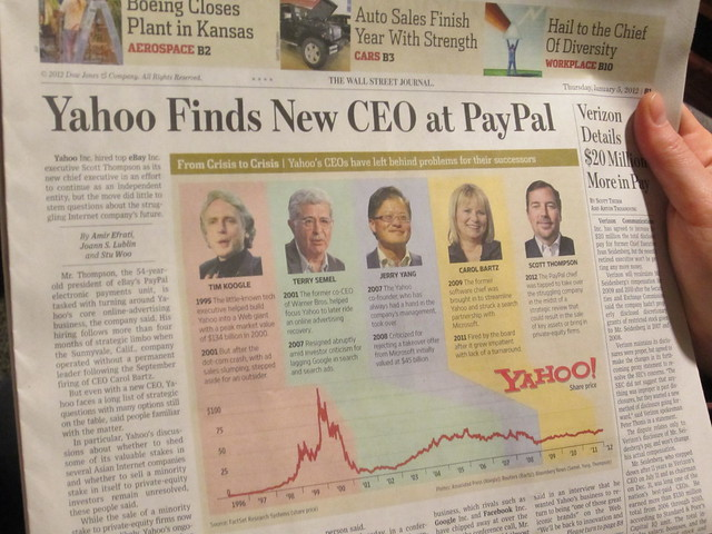 Yahoo finds new CEO at PayPal