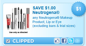 Neutrogena Makeup Product Coupon