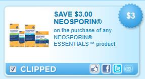 Neosporin Essentials Coupon