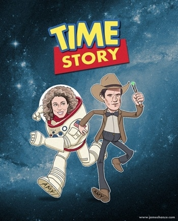 Mush-up de Doctor Who toy story