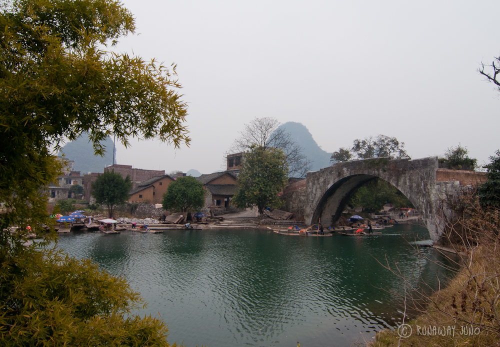 Dragon Bridge on Yulong River