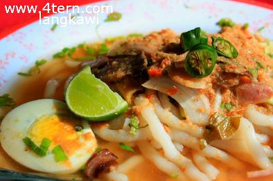 鲜甜鱼肉味的Laksa Penarak