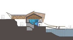National Marine Life Centre: Proposed Section