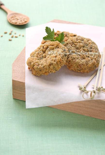 Crocchette di grano e verdure