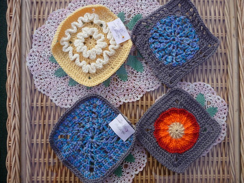 Jan Eaton, Wiggles Challenges and Stash Squares!