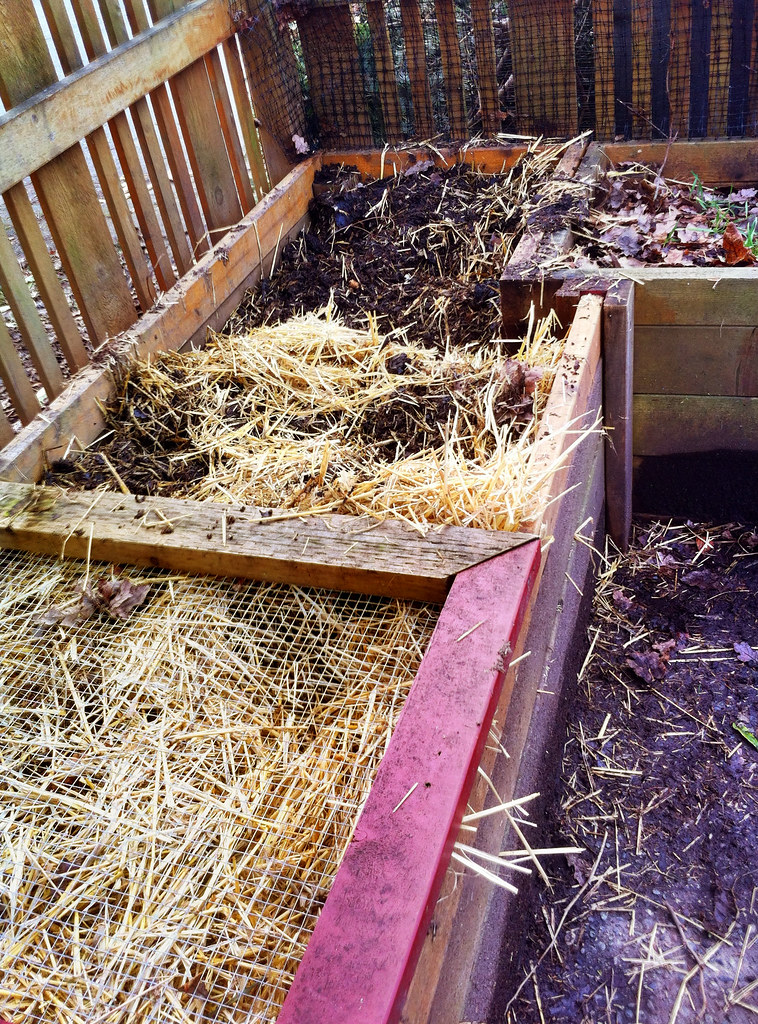 Composting Chicken Waste