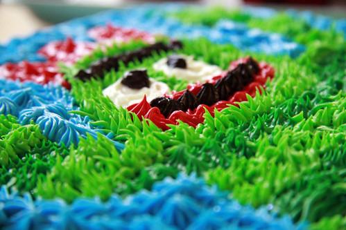 Brobee Birthday Cake