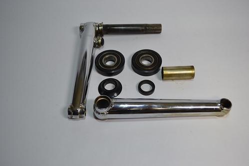 FUSION 3PCクランク OLD BMX