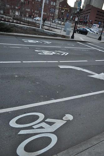 Atl Ave Bike lane 1