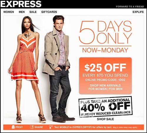 Express Sale!