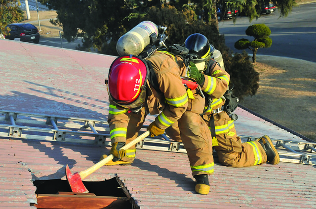 how to train to be a firefighter