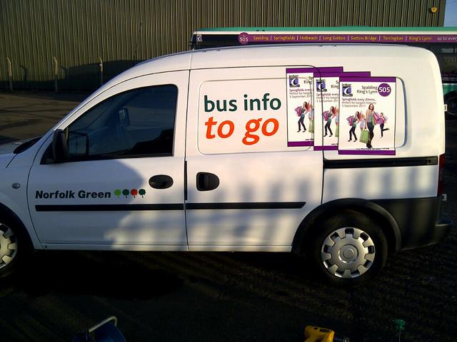 New NG publicity van