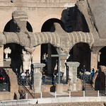 The Emperors Box In The Colosseum In Rome Italy