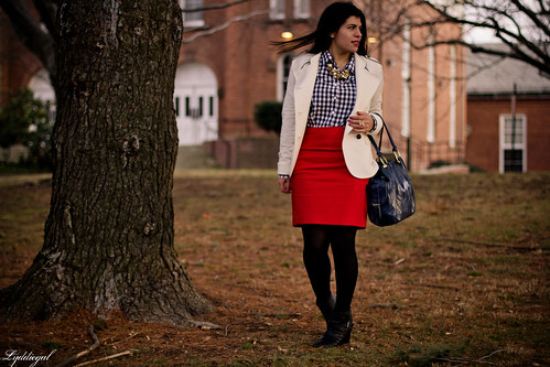 red white and gingham