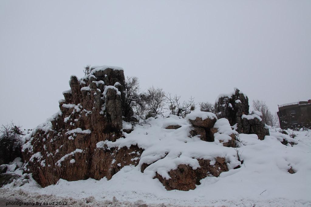 بيروت الشتاء مايحمله وثلوج وأمطار وضباب 6697196593_6ed1bb043