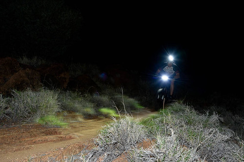 Night Time Mountain Biking 7