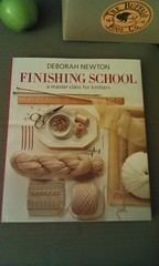 Deborah Newton's latest book, Finishing School: A Master Class for Knitters