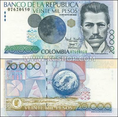 P-448_Colombia_2002_20,000_Pesos