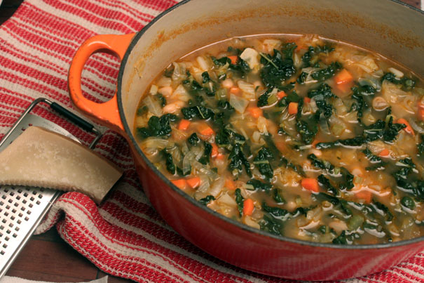 Ribollita (Italian Cabbage and Bean Soup) - Amateur Gourmet