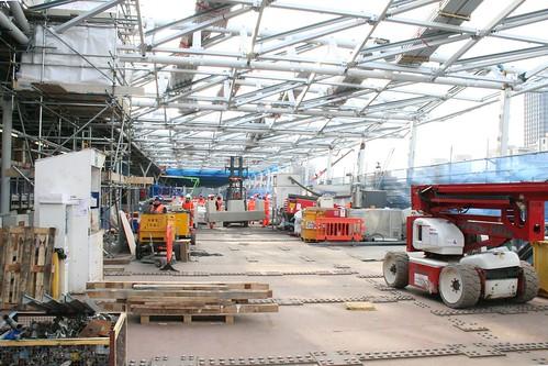 Blackfriars Station - behind the scenes