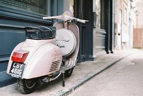 The Vespa Arms by Vespamore !