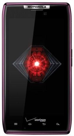 DROID RAZR in Purple