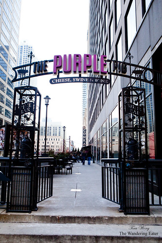 The Purple Pig's entrance