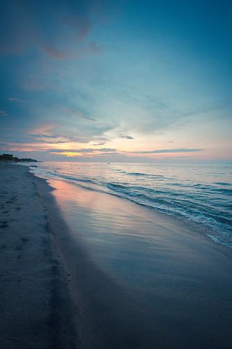 sunset beach sunrise canon paradise honduras laceiba 7d caribbean