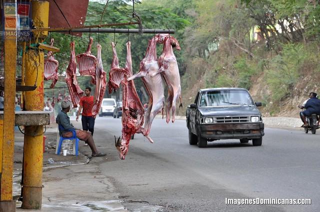Venta de Carne de Chivos en San Cristobal