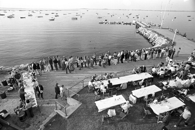 Seaside buffet dining, Cohasset